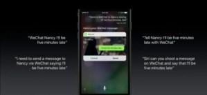 Siri WeChat