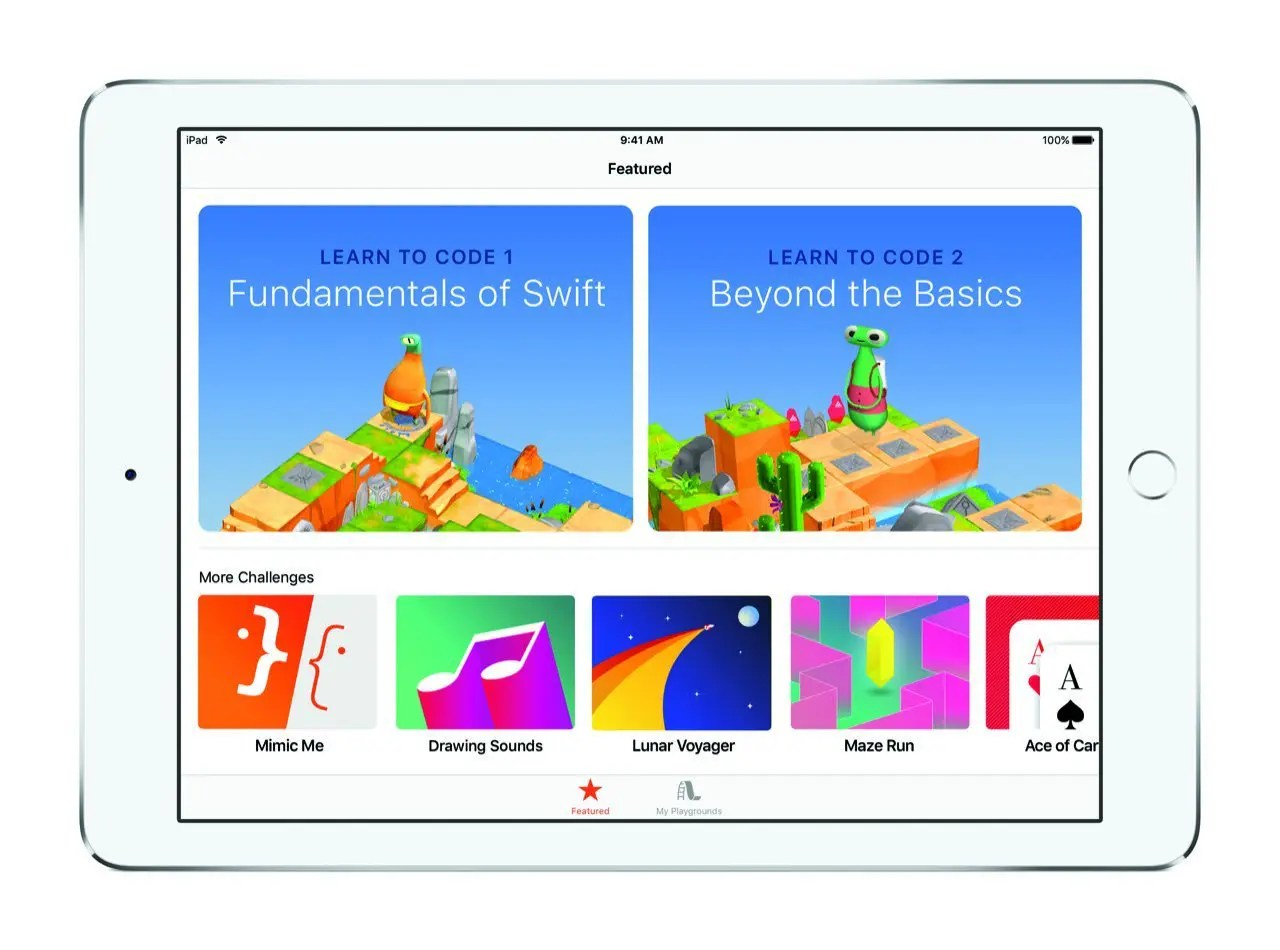 Swift Playgrounds Features (iPad Pro) - Apple