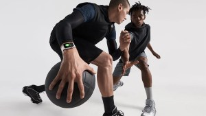 Apple Watch beim Basketball