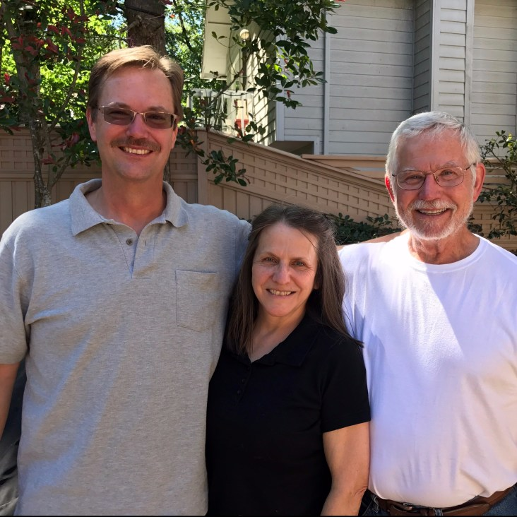 Al, Stephanie, and Larry