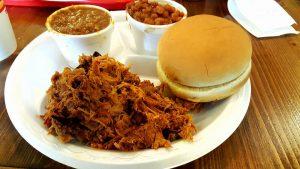 Georgia Bob's Pulled Pork Plate