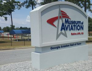 Museum Of Aviation Sign