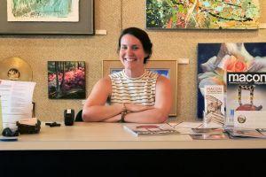 Anna Richards with Macon Arts Alliance