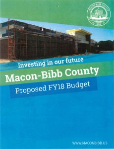 Proposed Macon Bibb 2018 FY Budget