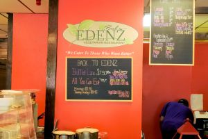 Back to Edenz Menu Board