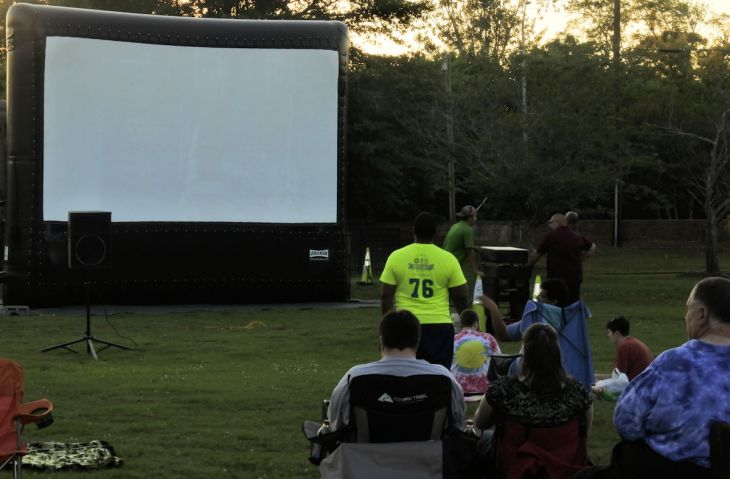 Macon Summer Movie Series