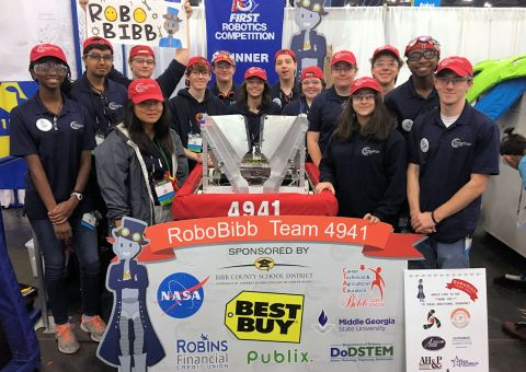 Macon Robotics club picture