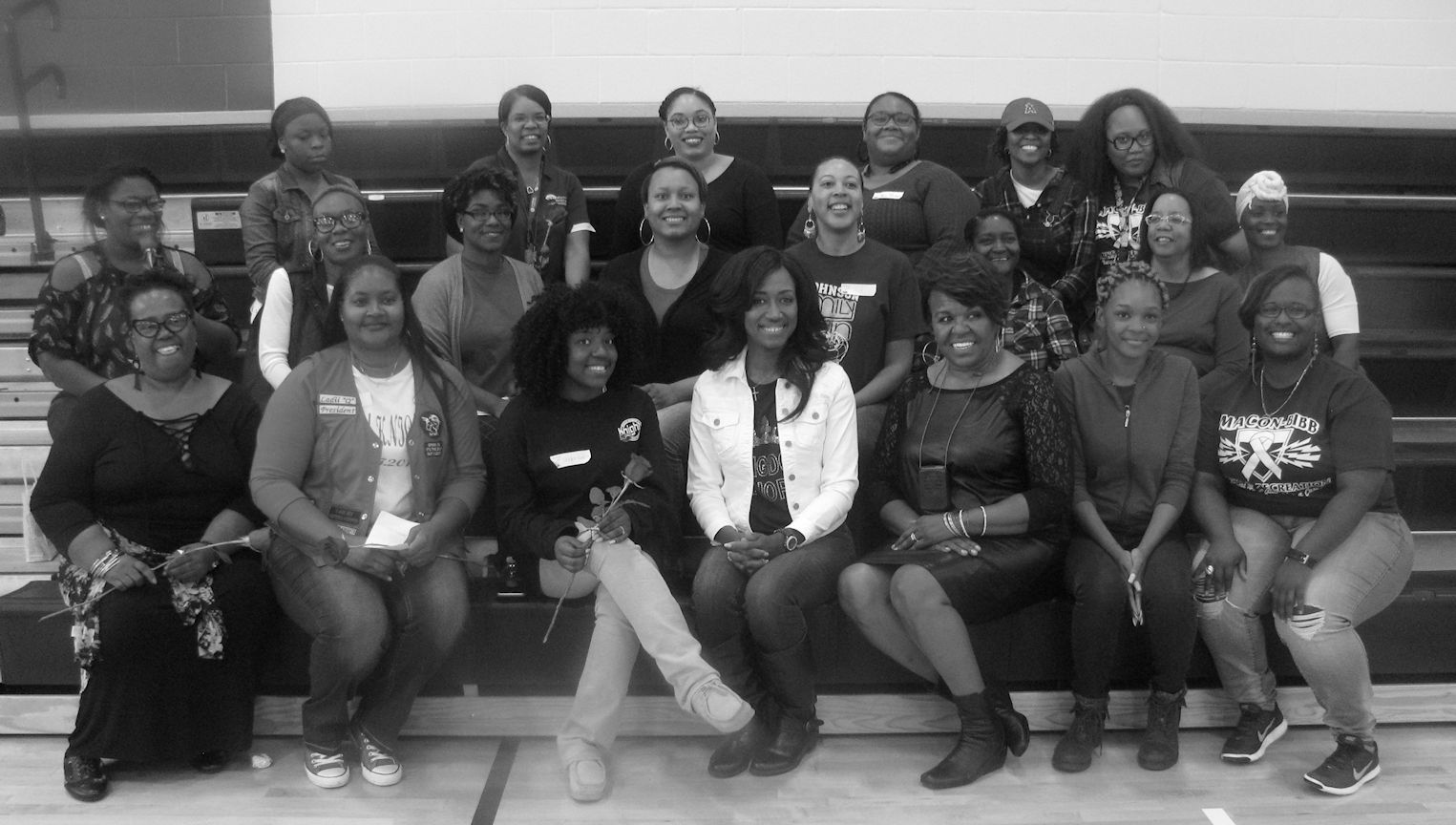 Just Us Girls Group BW