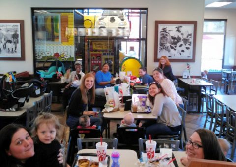 Macon MAMA meet-up at Chick-Fil-A