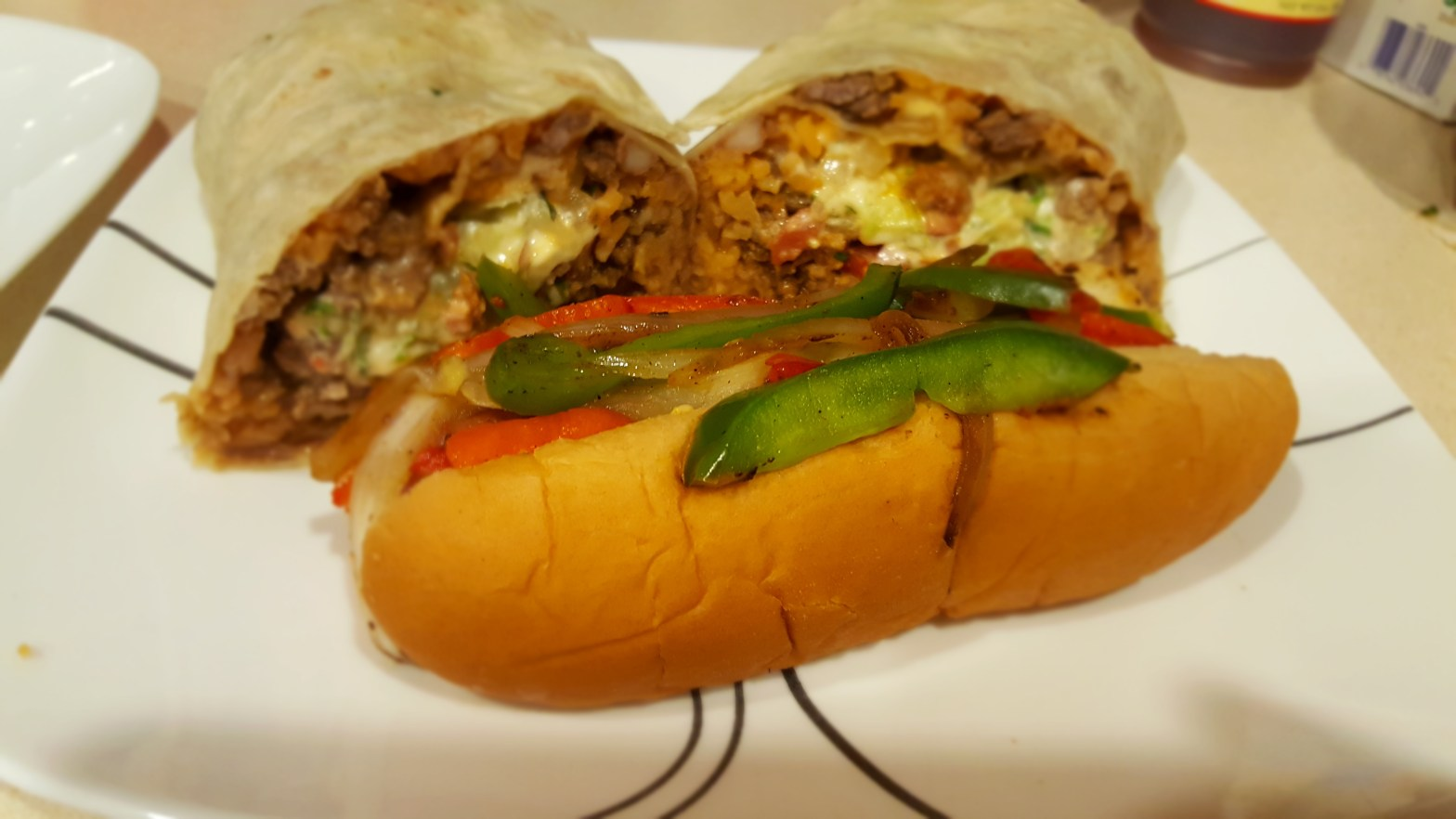 Ricky's Taco Shop Burrito and Hotdog