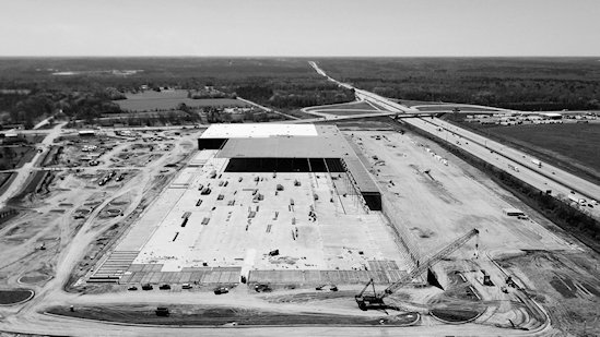 Amazon's Macon Fulfillment Center Under Construction