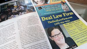 Macon Community News Print Display Ads