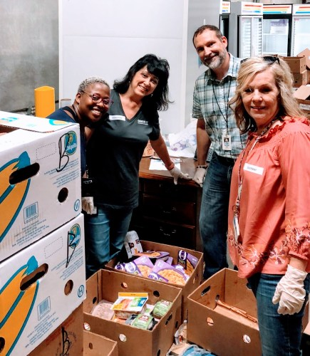 GEICO gives to food bank