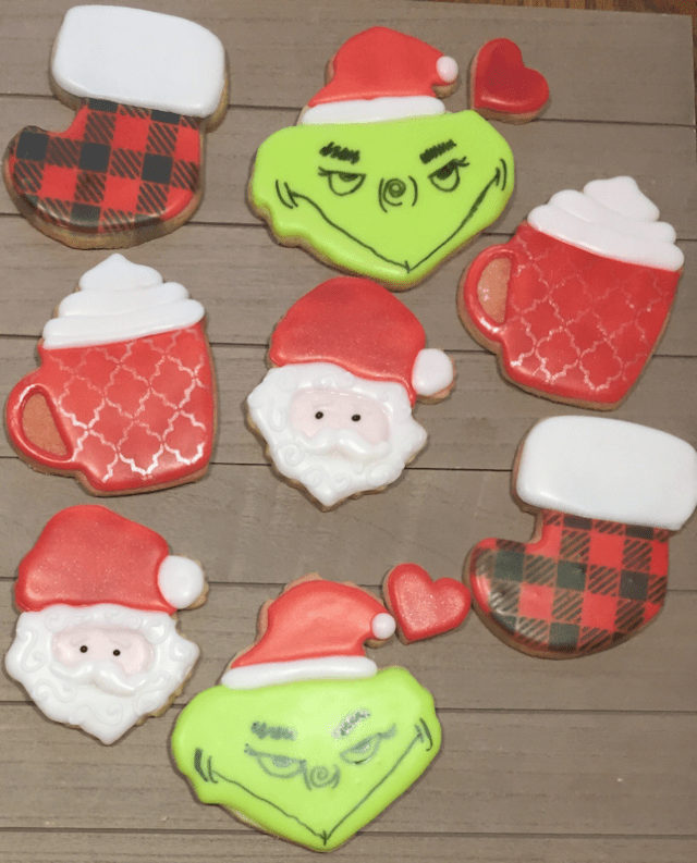 Becka's Sweets - Christmas Cookies
