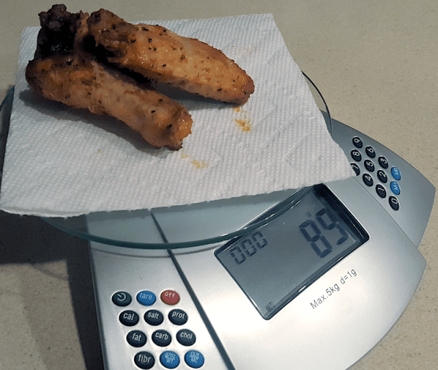 Pig On A Pie Wings, Scale