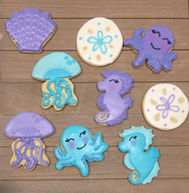 Becka's Sweets - Sea Cookies
