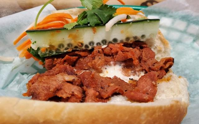 Pork Banh Mi Sandwich