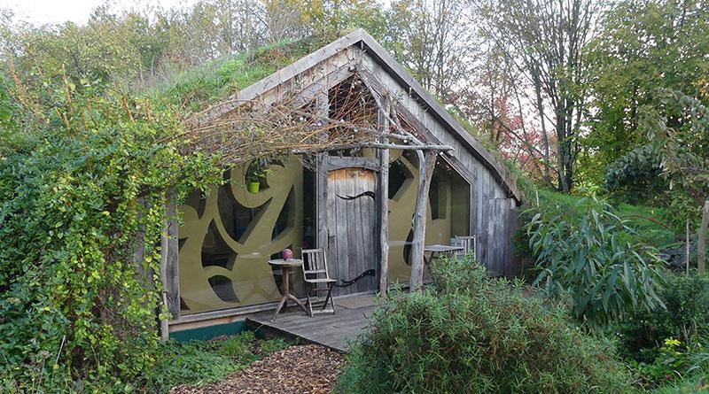 Vacances écolo : Ecolodge La Belle verte en Bretagne