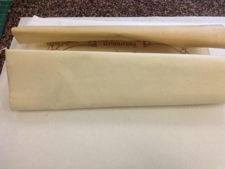 Stiffly Rolled Document