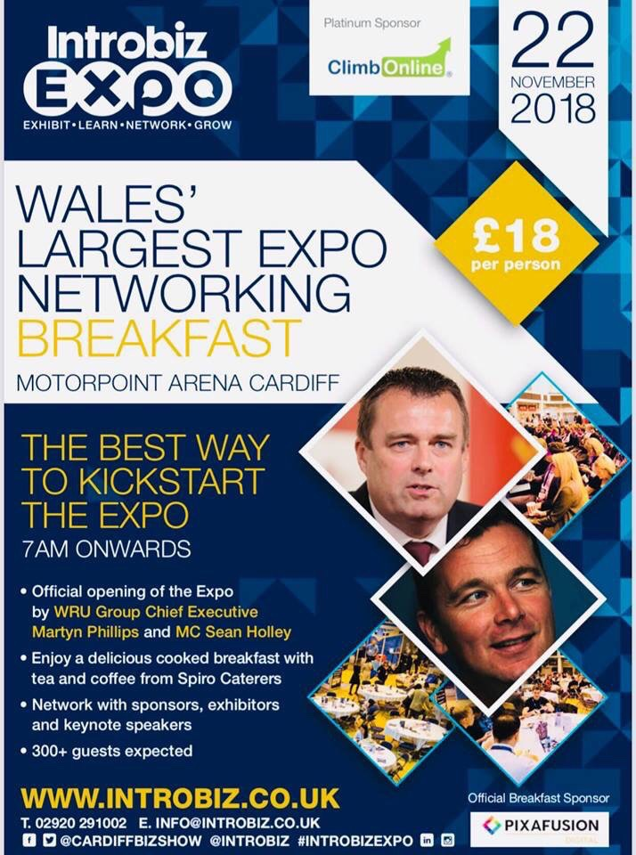 3 days to go to Wales' Biggest Business Expo, Pre expo networking event, Lord Sugar Lunch and VIP gala dinner with Grant Cardone…