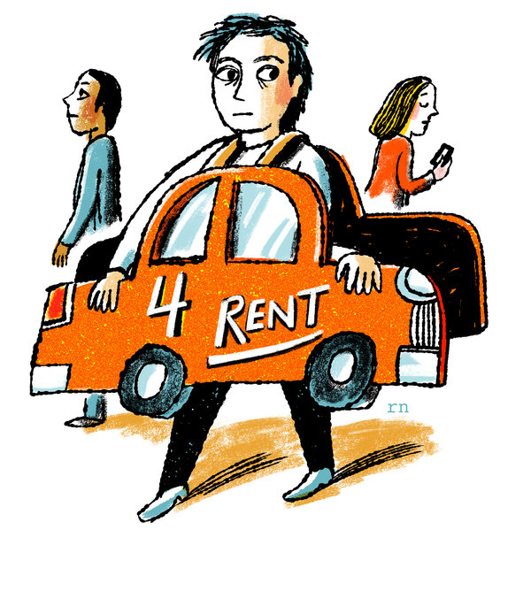 Airdnd rents out your car