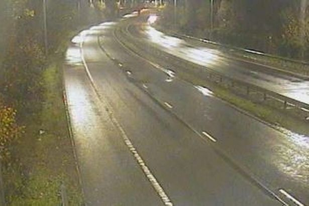 Flooding caused two sections of the A470 to be closed