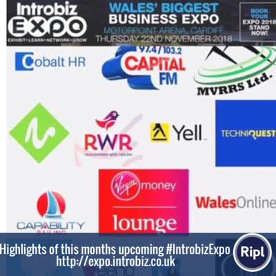 Introbiz Expo is now just 2 weeks away…