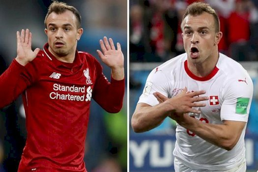 Liverpool star Xherdan Shaqiri's Albanian eagle gesture at World Cup will make him a target for hostile Belgrade return