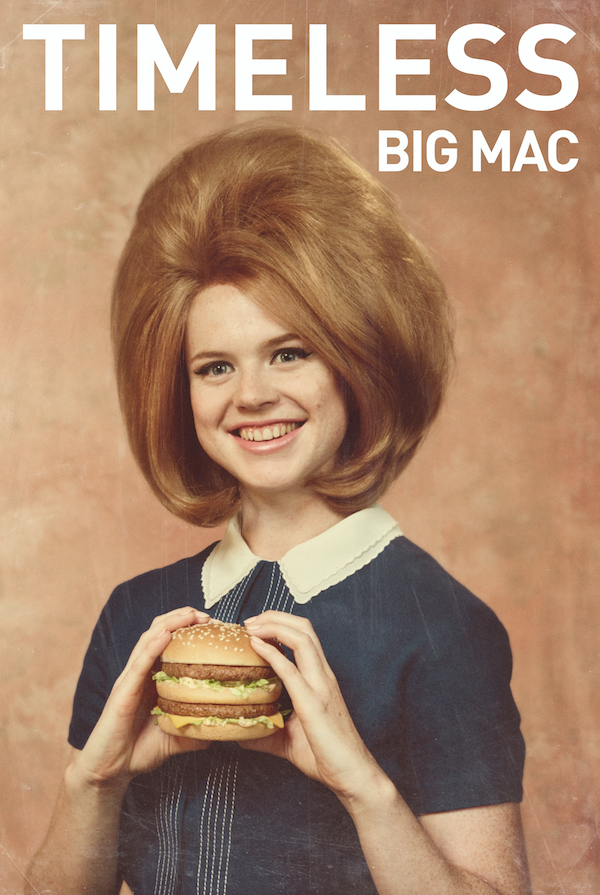 McDonald's Ultra Nostalgic, Throwback Ads Pay Homage To Its 'Timeless Big Mac'