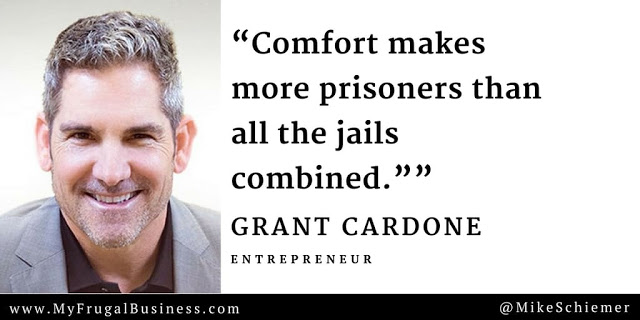 Quote from Grant Cardone, the Worlds Leading Marketing Guru, shares by #KingofMarketing !