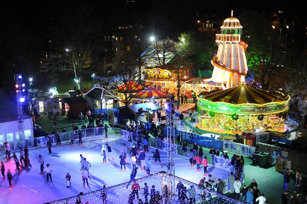 Cardiff Winter Wonderland Pictures…