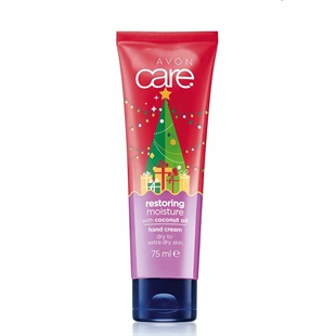 Avon Care Limited Edition Festive Restoring Moisture with Coconut Oil Hand Cream