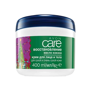Avon Care Limited Edition Festive Restoring Moisture with Coconut Oil Multipurpose Cream