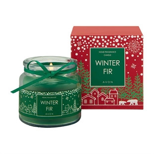 Winter Fir Mini Candle