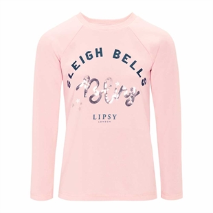 Lipsy Bells Bling Jumper