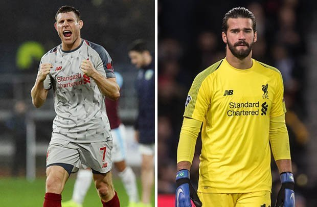 Liverpool goalkeeper Alisson sets new club record to overtake Javier Mascherano after remaining unbeaten in his opening 16 Premier League games