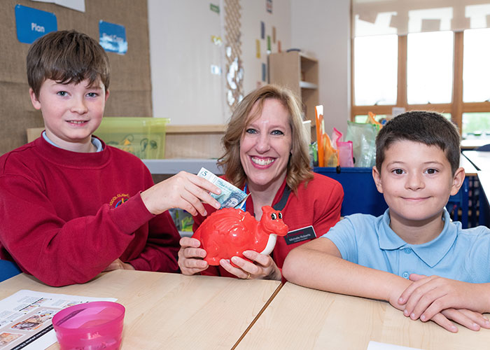 Principality gives finance lessons to hundreds of Welsh school children