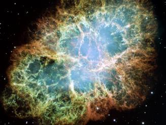 The Crab Nebula, Image Credit: NASA, ESA, J. Hester, A. Loll (ASU)