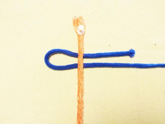 タッチング結び 紐を結ぶ