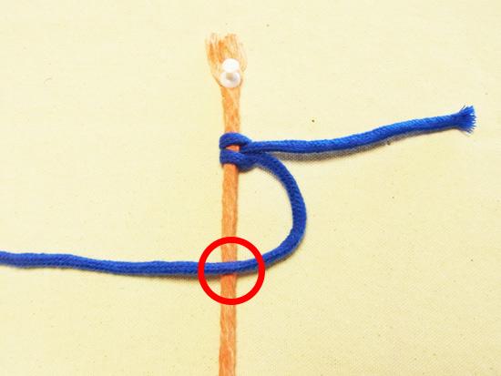 タッチング結び 工程5