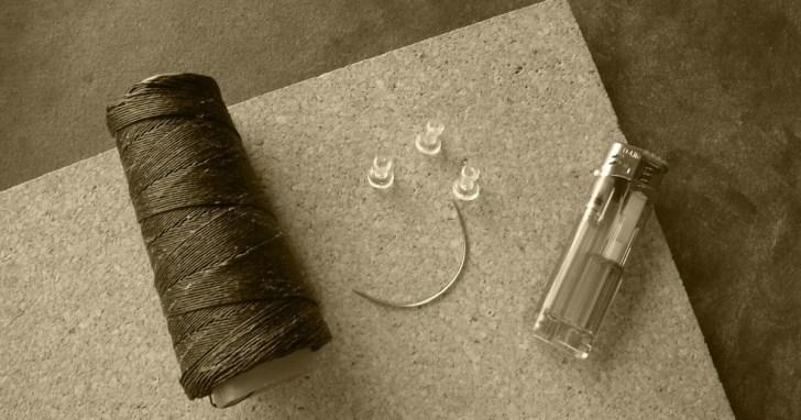 マクラメペンダント製作の材料