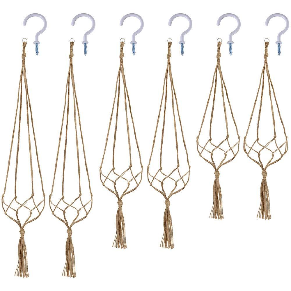 macrame plant hanger tutorials 8