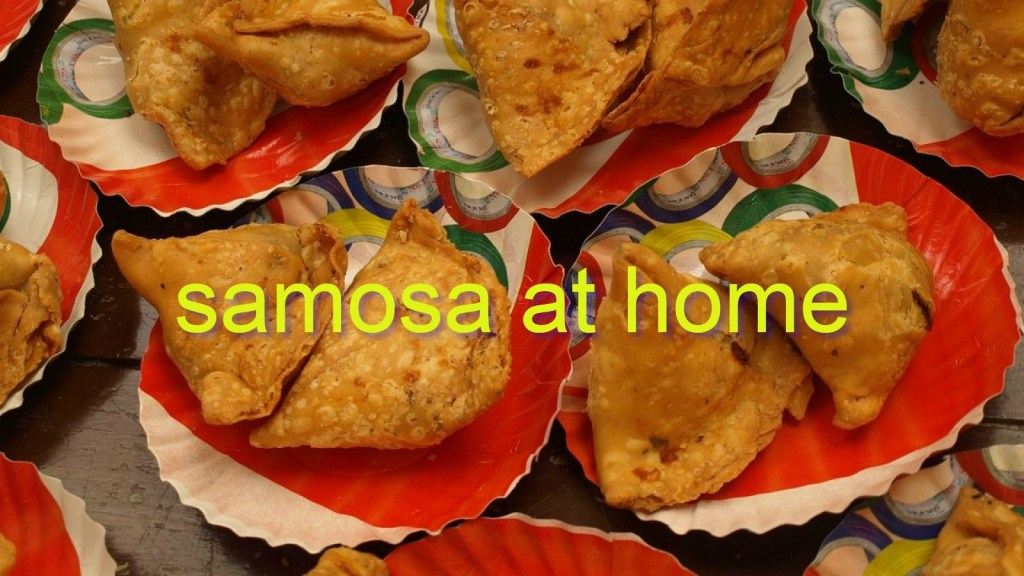samosa at home