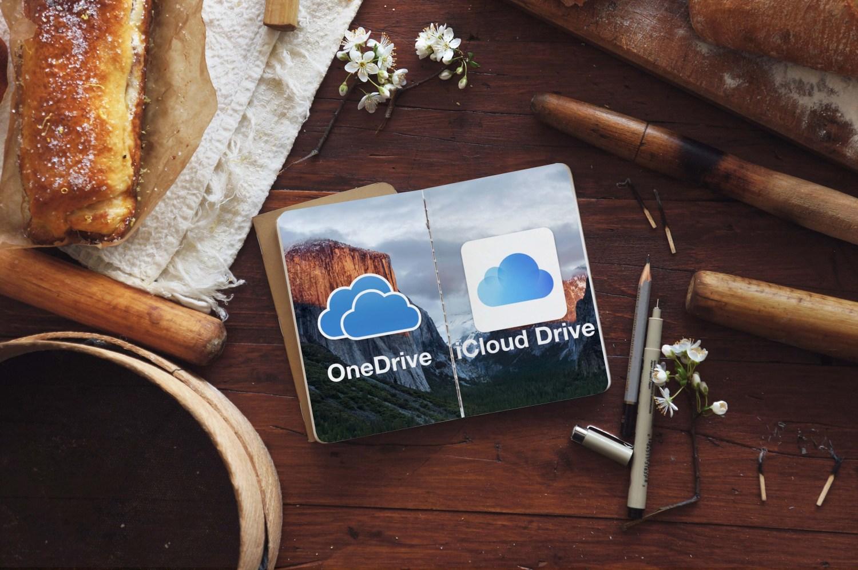 雲端大不同, iCloud Drive 、OneDrive 哪個會比較適合你呢?