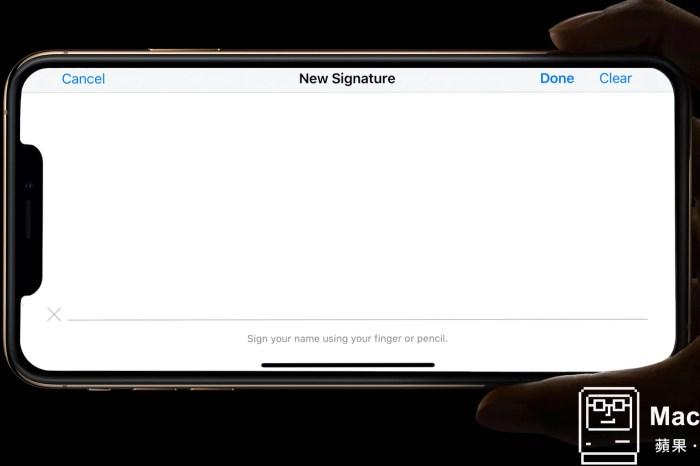 文件簽署再進化,Catalina 讓 預覽程式 更加強大了