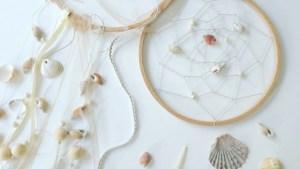 dreamcatcher coquillages