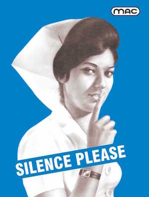 Silence Please Poster