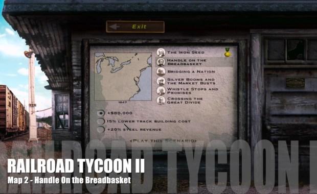 Railroad Tycoon II – Map 02 – Handle on the Breadbasket