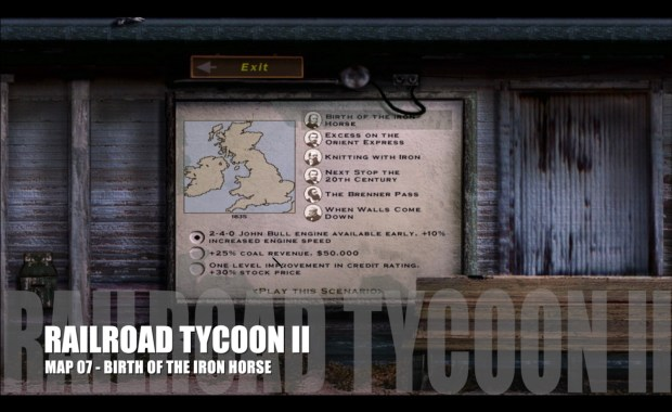 Railroad Tycoon II – Map 08 – Excess on the Orient Express