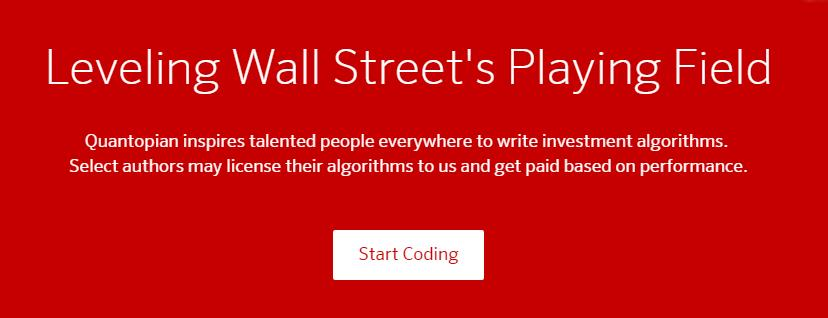 Leveling Wall Street Playing Ground